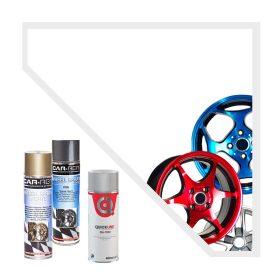 Lökhárító és keréktárcsa spray