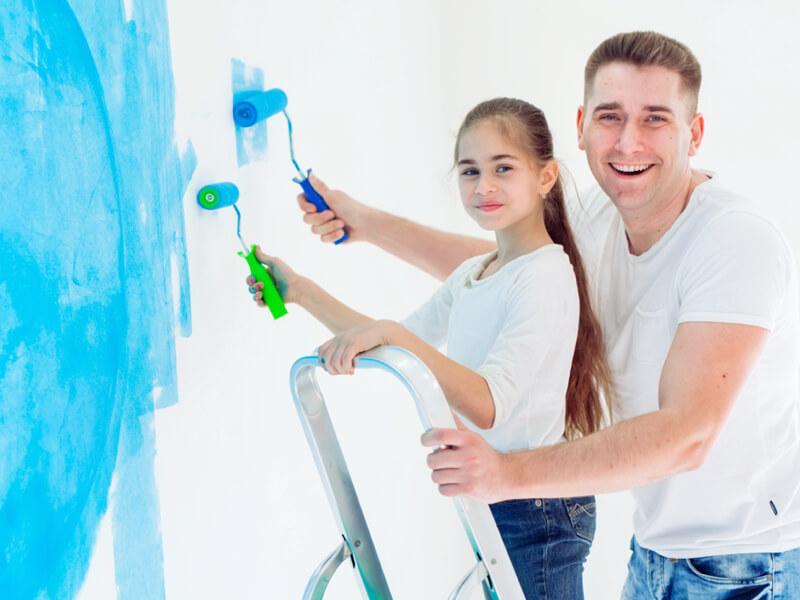 Festék színek hatása hangulatunkra, érzékszerveinkre - II. rész